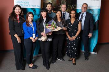 Human Dignity Award: Visitor Services team