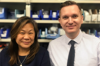 Elaine Tom and Norman Dewhurst (Clinical Pharmacy Specialist/Leaders)