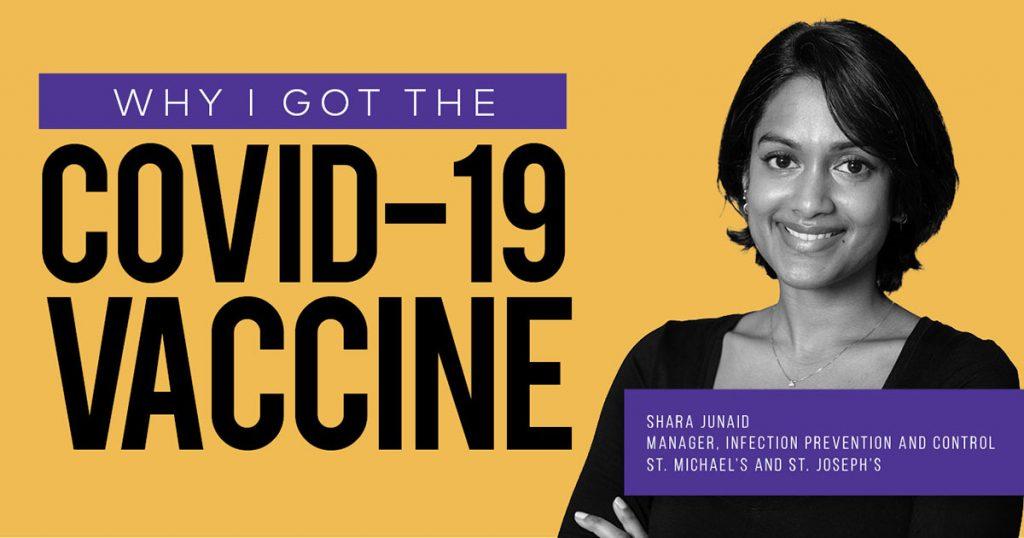 Why I got the COVID-19 vaccine - Shara Junaid